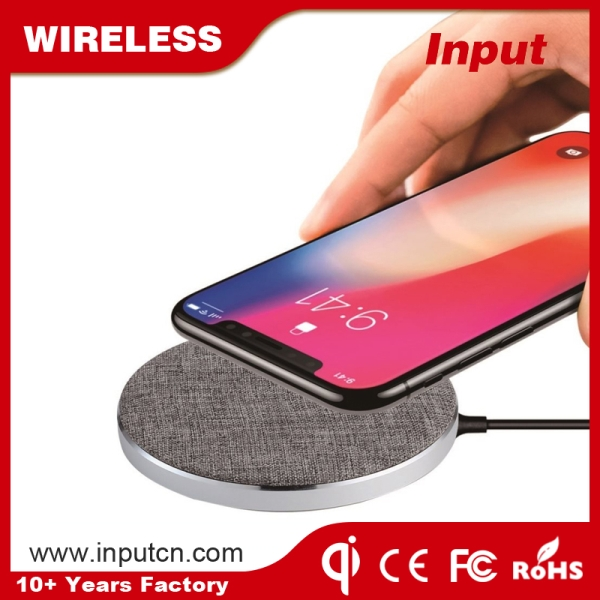 Fast Wireless Charger-Textiles Qi WT-300F