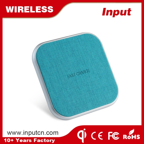 Fast Wireless Charger-Leather Qi WT-310F