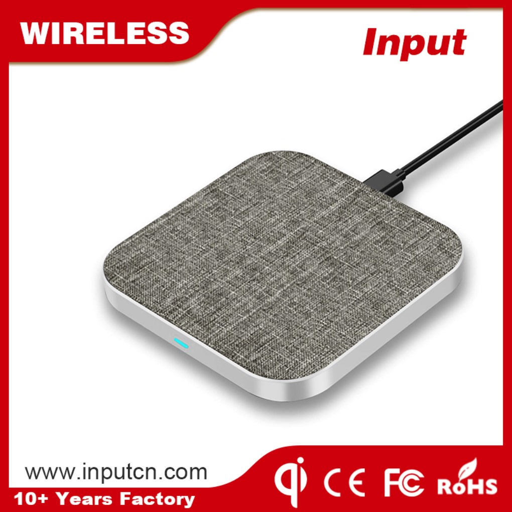 Fast Wireless Charger-Textiles Qi WT-310F