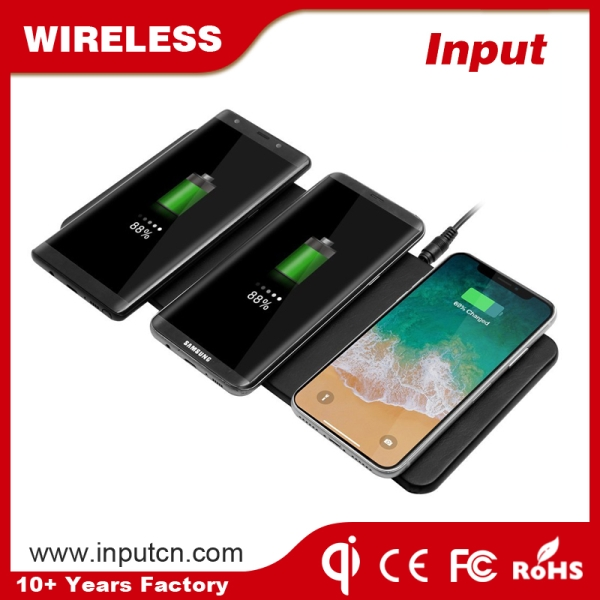 Triple Devices Wireless Charging Pad
