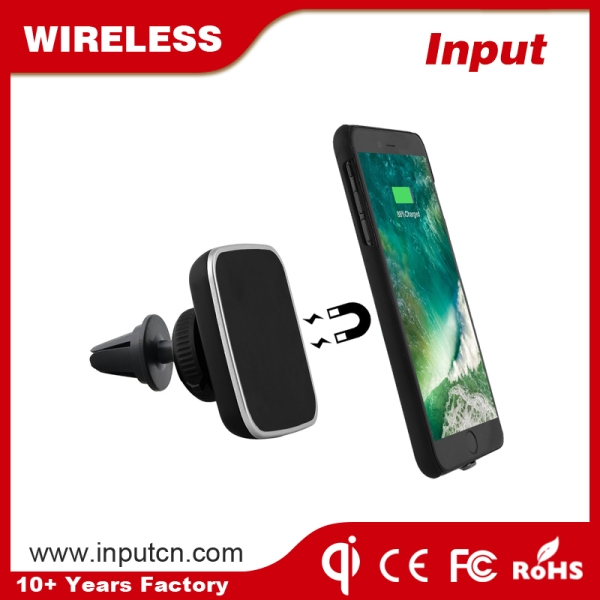 Magnetic Wireless Car Charger WT-C6K
