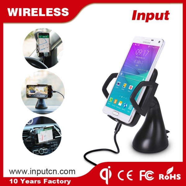 3 Coils Wireless Car Charger WT-C3E