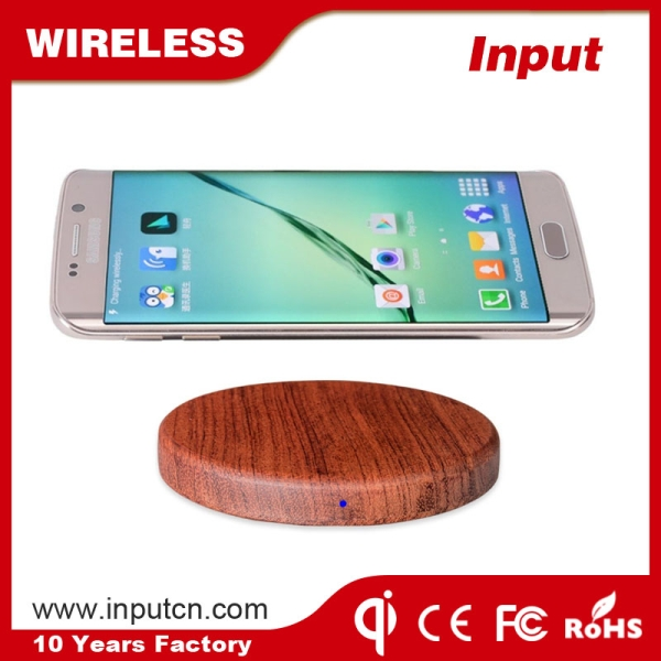 Fast Wireless Charger-Wood WT-510F